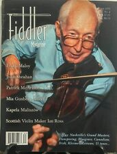 Fiddler Magazine Summer 2016 Frank Malloy John Sheahan FREE SHIPPING sb