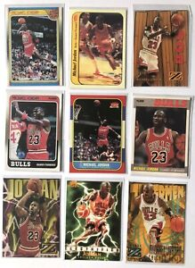 🏀 MICHAEL JORDAN Skybox z Boss Fleer 1986 #57 Reprint  (9 Cards)🔥