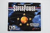 Super Power Real Time Strategy PC CD-ROM Retro Computer Game