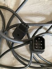 DISCO LIGHTING LEAD ELVCON PLUG TO ELVCON SOCKET 6m approx - SOUNDLAB / NJD
