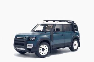 Land Rover Defender 110 2020 Tasman Blue 1:18 Almost Real 810802
