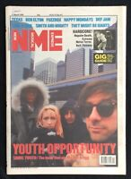 NME New Musical Express 11 March 1989 Sonic Youth Texas Happy Mondays Ben Elton