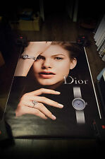 DIOR WATCH MINI D A  4x6 ft Bus Shelter Original Fashion Advertising Poster 2016