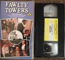 FAWLTY TOWERS, THE GERMANS-VHS VIDEO PRE CERT SMALL BOX-BBC VIDEO-RARE.