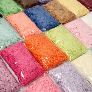 100g DIY Paper Raffia Shredded Paper Confetti Gift Box Filling Decorate Material