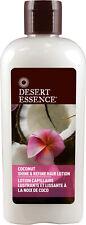 Coconut Shine and Refine Hair Lotion, Desert Essence, 6.4 oz