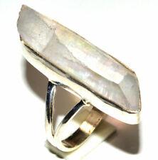 Lemurian Quartz 925 Sterling Silver Ring Jewelry s.8.5 JB15976