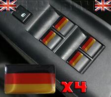 x4 Germany Flag Logo Stickers Deutsch Interior For BMW AUDI VW Porsche Mercedes