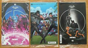 BATMAN FORTNITE ZERO POINT #5 Janin Main, Variant B, Premium DC NM