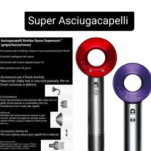 Dyson Supersonic 1600W Asciugacapelli (Fucsia/Rosso/Viola)