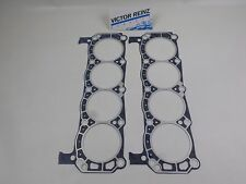 PAIR of Engine Cylinder Head Gaskets Victor 3428 for FORD 260 289 302 351W