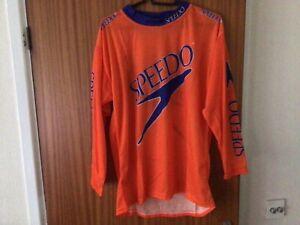 Speedo men's triathelite cycling jersey BNWT orange size Large retro buy £12