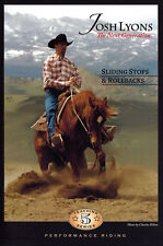 Sliding Stops & Rollbacks DVD by Josh Lyons - Horse Training