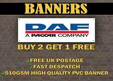 Daf trucks bannière pour garage/shop/promotion objet custom bannières!