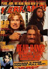 Dave Mustaine of Megadeth on Kerrang Cover 1994     Nirvana     Guns N' Roses