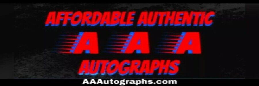 Affordable Authentic Autographs
