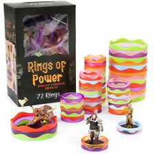 Rings of Power - Tabletop Condition Markers - RPG Board Game Accessories
