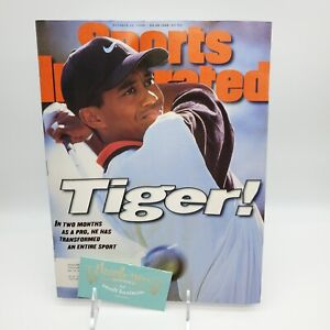 Sports Illustrated Oct 28 1996 TIGER WOODS First SI Cover Tiger! PGA Golf