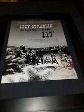 Izzy Stradlin 117 Degrees Rare Original Radio Promo Poster Ad Framed!