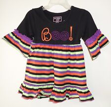 New Southern Tots Embroidered Boo Halloween Dress ~Girl's Size 12M