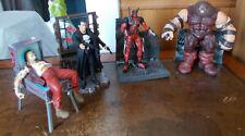 3 x Action Figure Diamond Select Marvel Juggernaut, Punisher & Deadpool