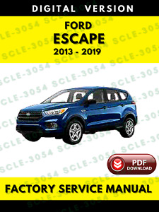Service Repair Manuals For Ford Escape For Sale Ebay