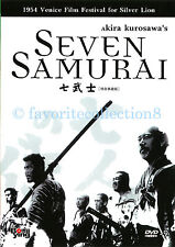 7 Seven Samurai DVD Akira KUROSAWA Movie