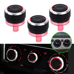 Air Condition A/C Heat Control Knobs Switch Fit For Peugeot 206 207 Citroen C2