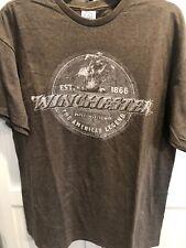 WINCHESTER Mens Tshirt Brown L