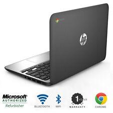 HP Chromebook 11 Laptop Intel 2.16 GHz 2 Memory 16 HD Bluetooth Wifi HDMI Webcam