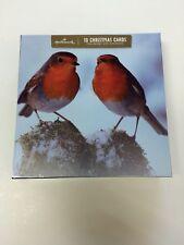 Sello Rojo Navidad Robin par la galería de tarjeta de edición Caja De 10 Tarjetas 11403016