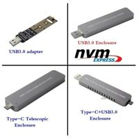 M.2 NVMe M-Key PCIe SSD to USB 3.1 Type-C 10Gbps Adapter External Enclosure Case