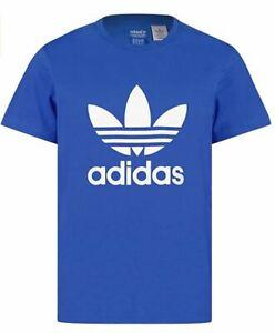 Adidas Originals Trefoil T-Shirt Mens Bluebird Blue G84555 100% Genuine New