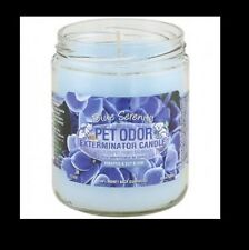 "Pet Odor Exterminator Candle: "" Blue Serenity"""
