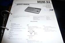 Service Manual sony MDM-X4, Original