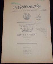 Golden Age Magazine June 19 1935 ISBA International Bible Watchtower Jehovah