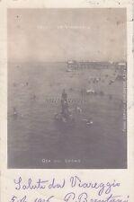 VIAREGGIO - Ora del Bagno - Foto Cartolina 1906