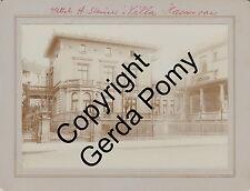 Henry Steiner (Silversmith in Adelaide) and Villa Steiner a Hannover - 4 photos