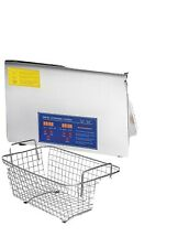 Vevor Ultrasonic Cleaner 30l Commercial Ultrasonic Cleaner Total 1200w For
