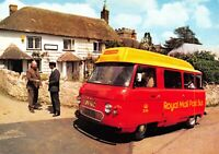 Devon Postcard, c1970s Honiton Royal Mail Post Bus at Dunkeswell Post Office BQ3