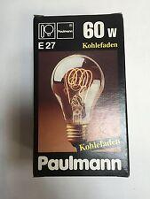 Paulmann Kohlefadenlampe E27 60W 230-240V  Carbon Filement  Art.700.60