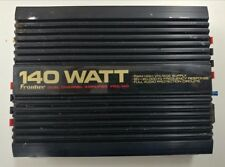 Frontier Dual Channel Amplifier FRA-140