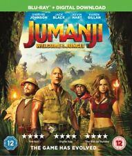 Jumanji: Welcome To The Jungle BLU-RAY- REGION FREE NEW & SEALED*