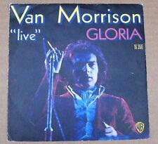 "Van Morrison LIVE  - Gloria/Wild Children -  French Picture Sleeve PS 7"" single"