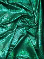 Snake Design Metallic Nylon Spandex 4way Sold By The YD. Ships Worlwide From L.A