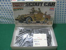 Vintage Model kit    -  SCOUT  CAR  Armored  Cavalry    -  1/35 MAX 3507-900