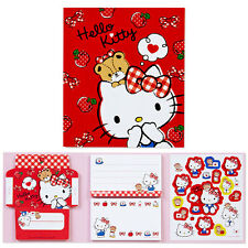 Sanrio Hello Kitty Mini Letter Memo Set with Stickers Registered Shipping