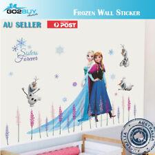 Disney Frozen Elsa Anna Wall Sticker Removable Kid Girl Room Decal