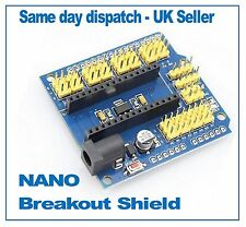 Arduino NANO UNO Breakout board I/O Expansion shield