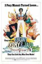 Ebony Ivory Jade Poster 01 A3 Box Canvas Print